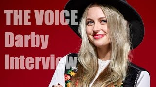 Darby Walker - THE VOICE 11 Blind Auditions INTERVIEW