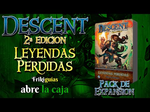 Reseña Descent: Journeys in the Dark (Second Edition) – Lost Legends Expansion Pack