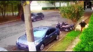 Suspeito é visto abandonando moto de PM desaparecida - Ponte Jornalismo