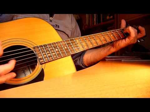 Comment jouer Dès que le vent soufflera de Renaud à la guitare