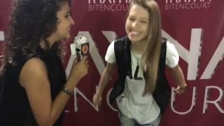 Entrevista com thayna bitencout😍