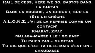 Alonzo - La Belle vie le zin Lyrics Paroles FR