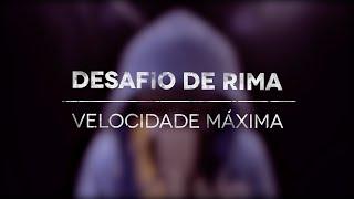 Desafio de Rima - Velocidade Máxima - Fabio Brazza e Ítalo Beatbox