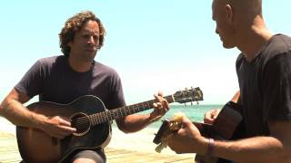 Jack Johnson and Kelly Slater performing Home - from the album 'From Here To Now To You'