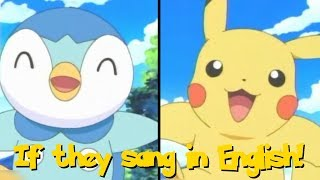 IF POKÉMON TALKED: A HAPPY SONG (Sang a Little too Fast on this one...)