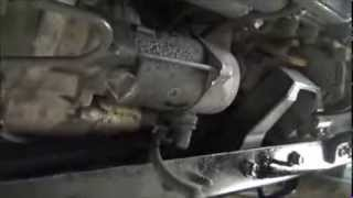 Replace Hino Dutro Starter Motor - Damn expensive Hino!
