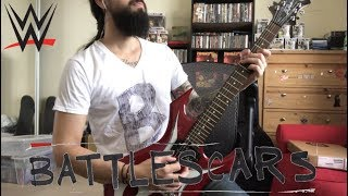 "The B-Team ""Battlescars"" WWE theme guitar cover"