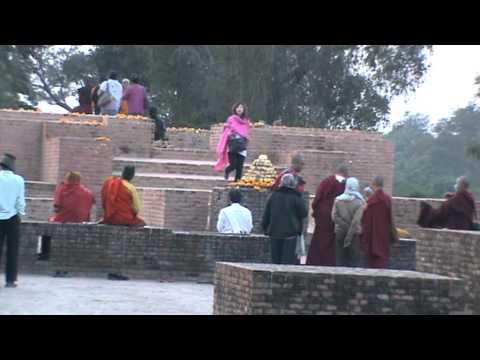 Sopaka Bhantejyu Lumbini Nepal to India Travel dec2010 50