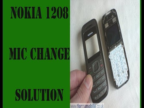 Download thumbnail for nokia 1208 mic problem solution and