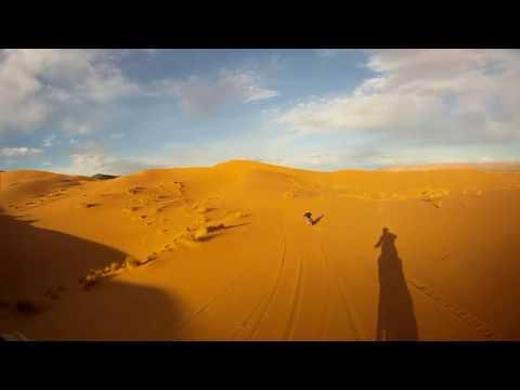 Balade dans les Dunes d'Ouzina