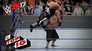 Top 10 maniobras más flexibles en WWE 2K17