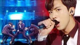 《POWERFUL》 KNK(크나큰) - BACK AGAIN @인기가요 Inkigayo 20160612