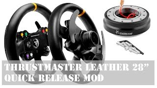Tutorial : Mod Quick Release para Thrustmaster Leather 28""