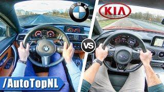 Kia Stinger GT vs BMW 440i xDrive | 0-250km/h ACCELERATION TOP SPEED POV & SOUND by AutoTopNL