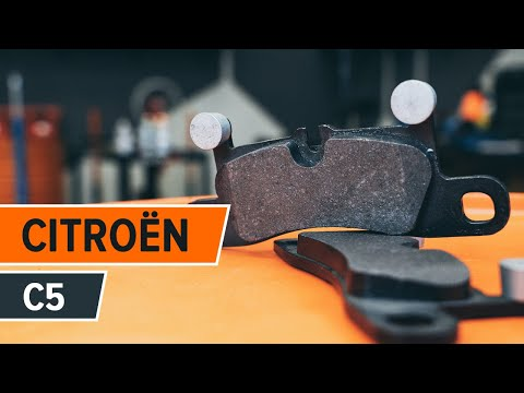 How to replace front brake pads on CITROEN C5 TUTORIAL | AUTODOC