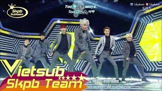 [Vietsub + Engsub + Kara] 140518 EXO-K - Overdose @ SBS Inkigayo