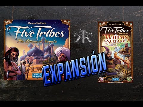 Reseña Five Tribes: Whims of the Sultan