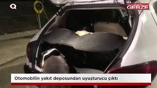 Otomobilin yakıt deposundan uyuşturucu çıktı!