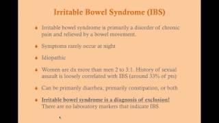 Irritable Bowel Syndrome - CRASH! Medical Review Series