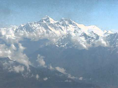 Aerial View of the Himalayan Mountains
