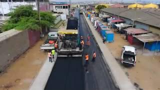 Construção da Estrada de Acesso Pumangol - Luanda