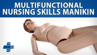 Multifunctional Nursing Skills Manikin Female - Real size