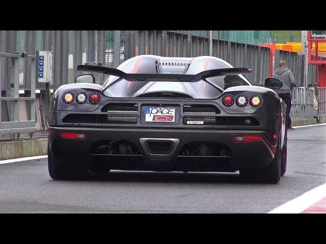 1000HP+ Koenigsegg CCX Edition - Start, Accelerations & More!