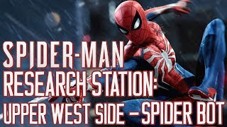 Marvel's Spider Man PS4 Research Station: Upper West Side - Spider Bot