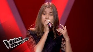 """Naranchimeg.A - """"Piece by Piece"""" - Blind Audition - The Voice of Mongolia 2018"""