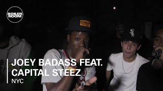 Joey Badass feat. Capital STEEZ - 'Survival Tactics' - live in the Boiler Room New York x RBMA