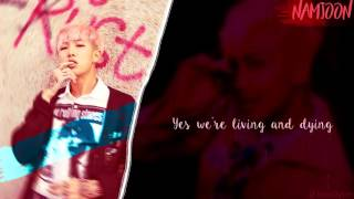 BTS Namjoon & Taehyung (RM&V) - 네시 (4 O'CLOCK) [Lyrics Han|Rom|Eng]