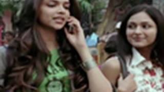 Deepika gets flirty on phone width=