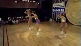 National Aerobics Championship USA 1991 Trio