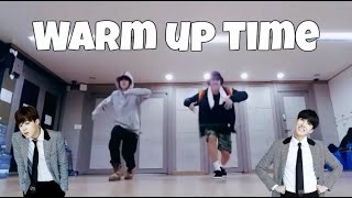 J-Hope's Dance warm-up exercise (ft. Jimin)