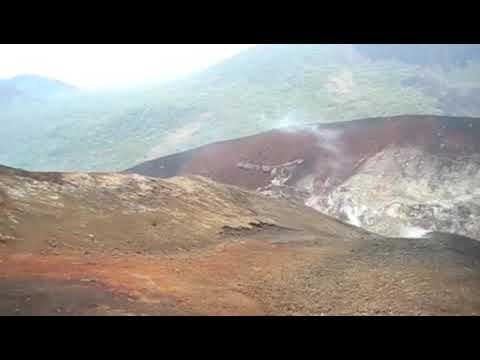 Volcan Cerro Negro Top Panorama