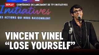 "Vincent Vinel chante ""Lose Yourself"" d'Eminem - Conférence TF1 Initiatives (7/7)"