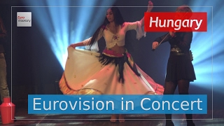 Joci Pápai - Origo - Hungary (Live in 4K!) Eurovision in Concert 2017