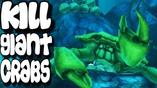 Hungry Shark Evolution - How To Kill Giant Crabs