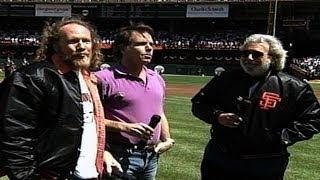 FLA@SF: Grateful Dead perform national anthem
