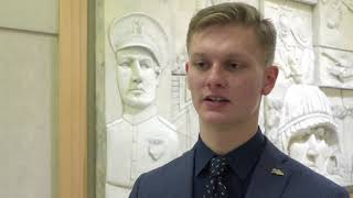 2018 DoDEA US Senate Youth Program: Mark Keller