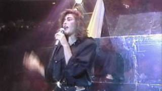 Laura Branigan   Self Control live thommys pop show 1985
