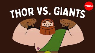 The myth of Thor's journey to the land of giants - Scott A. Mellor width=