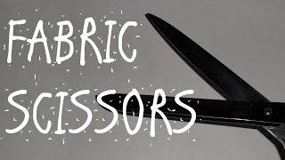 QUICK TIP - FABRIC SCISSORS