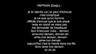 The Shin Sekaï ft. Gradur - Aime moi demain (PAROLES)