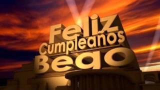 Feliz Cumpleaños Bego