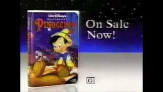 Disney's Pinocchio VHS commercial - 1993