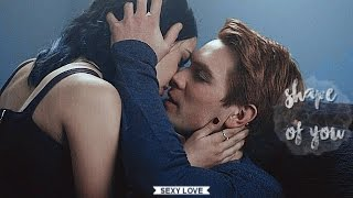 Veronica and Archie|| Shape of you(+ 1x10)