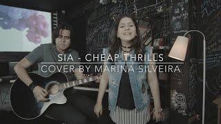 SIA - Cheap Thrills (Cover Marina Silveira)