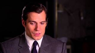 "The Man from U.N.C.L.E.: Henry Cavill ""Solo"" Behind the Scenes Interview"