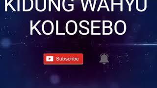 Lagu Kidung Wahyu kolosebo (NEW)